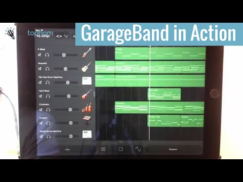 Watch me Compose and Build a Song in GarageBand