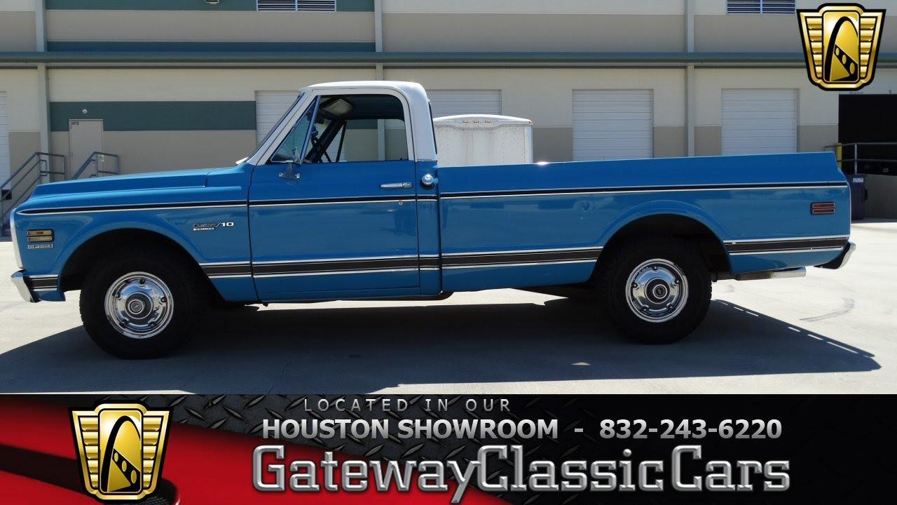 1972 Chevrolet C10 Gateway Classic Cars of Houston stock ...