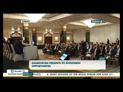 Kazakhstan presents its investment opportunities - KazakhTV