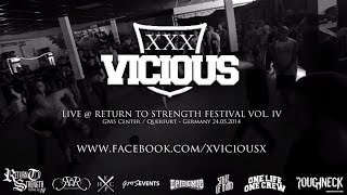 xVICIOUSx Live @ Return to Strength Festival Vol. IV (HD)