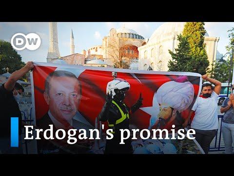 Turkey's Erdogan signs decree making Hagia Sophia a mosque | DW News
