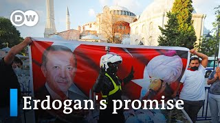Turkey's Erdogan signs decree making Hagia Sophia a mosque | DW News