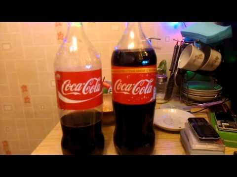 Чем отличается поддельная Coca Cola от настоящей
