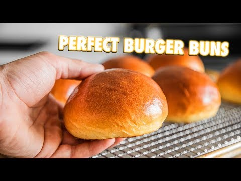 How To Make The Best Burger Buns Of All Time