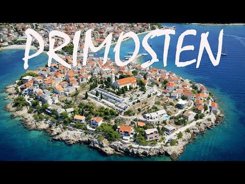 A Tour of PRIMOSTEN, CROATIA on the Adriatic Sea