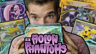 DAS 700,00 Euro DISPLAY 😱 POKÉMON EX Holon Phantoms Booster Opening