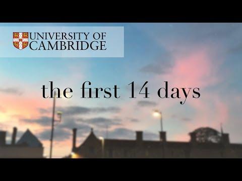 My First 2 Weeks at CAMBRIDGE UNIVERSITY || uni vlog 01