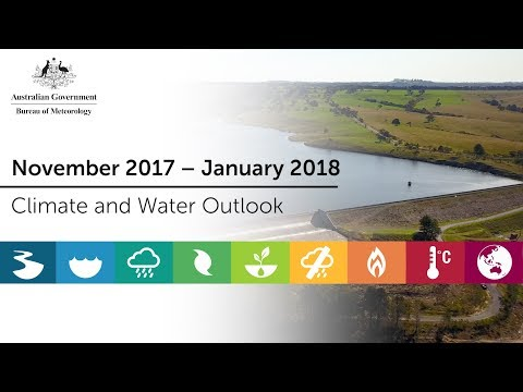 Climate and Water Outlook, November 2017 – January 2018