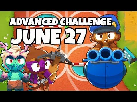 BTD6 Advanced Challenge - NinjaElite3835&39;s Challenge - June 27 2019