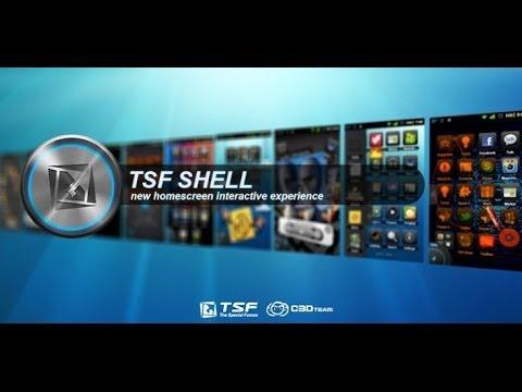 Aprende De Tu Android || TSF Shell 3D Launcher v2 0 [HD]