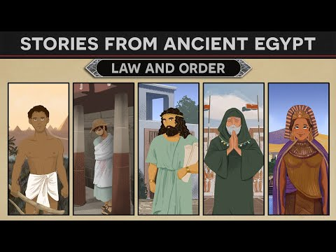 Stories from Ancient Egypt - Law and Order DOCUMENTARY