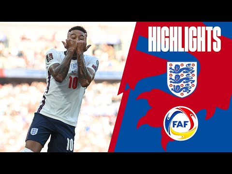 England 4-0 Andorra   Lingard Brace, Kane & Saka on Target   World Cup 2022 Qualifiers   Highlights