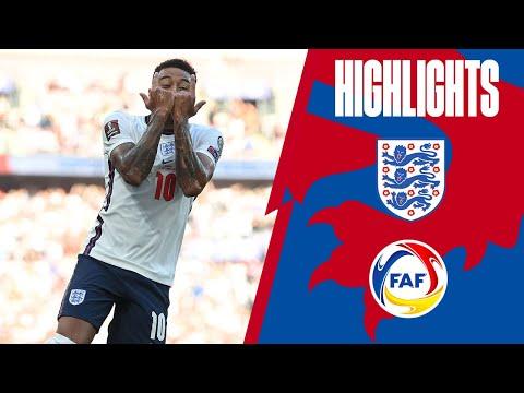 England 4-0 Andorra | Lingard Brace, Kane & Saka on Target | World Cup 2022 Qualifiers | Highlights
