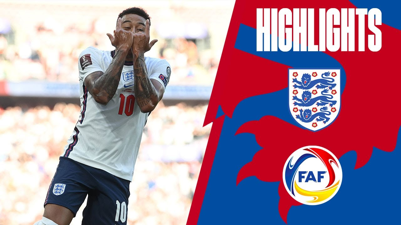 Download England 4-0 Andorra | Lingard Brace, Kane & Saka on Target | World Cup 2022 Qualifiers | Highlights