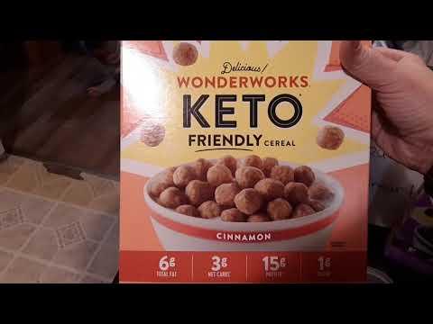 Wonderworks keto cereal from Walmart Something besides eggs for breakfast keto