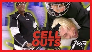 ICE HOCKEY HORROR (Cell Outs)