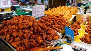 Недорогой и популярный корейский традиционный рынок целая курица