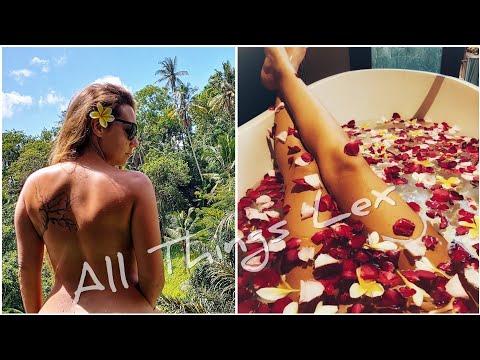 PRIVATE Bali Luxury Jungle Pool Villa Tour!! ❤ Natya Resort Ubud