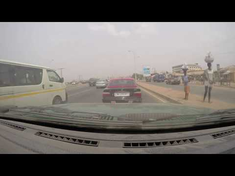 Drive from Accra to the land in Peduase