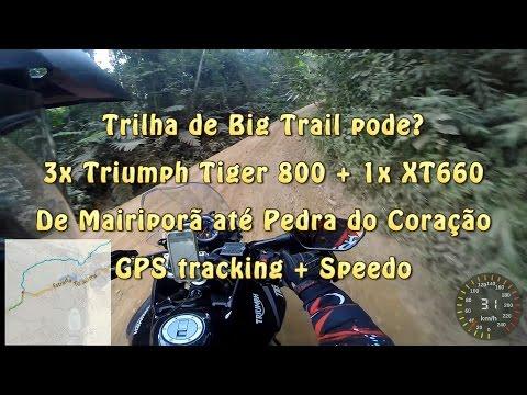 Trilha de Bigtrail pode? Mairiporã até Pedra do Coração com tracking GPS e Speedo