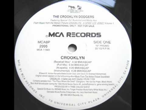 The Crooklyn Dodgers -- Crooklyn (Baseball Mix) (1994)