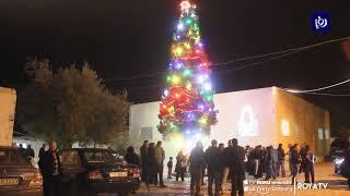 إضاءة شجرة عيد الميلاد في الكرك (19/12/2019)