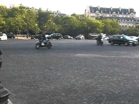 Champs-Elysee Roundabout in Paris