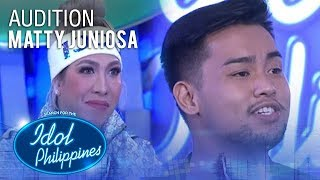 Matty Juniosa - Natural Woman | Idol Philippines 2019 Auditions