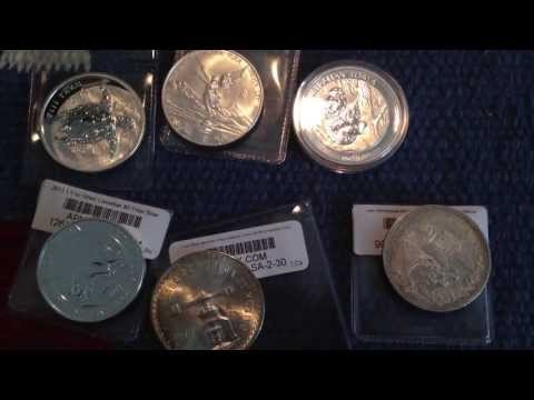 My First Apmex Order | I Love Mexican silver coins