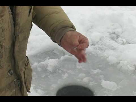 Ice Fishing Nilan Lake 12-21-08