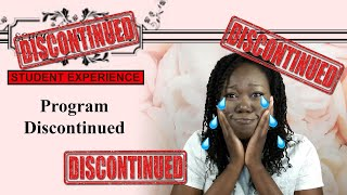 School of Affluence: Day 161: Program Discontinued