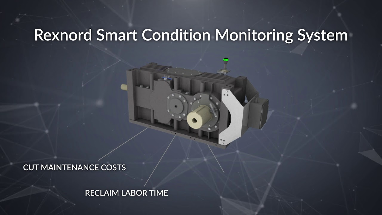 Know When to Lubricate Equipment with Rexnord's Smart Condition Monitoring System