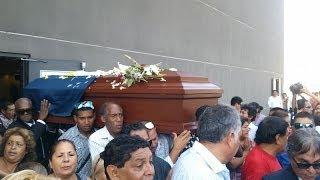 Último adiós a Pepe Vásquez en el Cementerio Padre Eterno de El Agustino