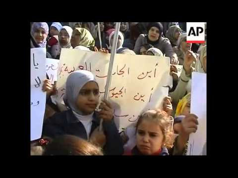 Palest refugees in Lebanon, Solana on crisis in Gaza