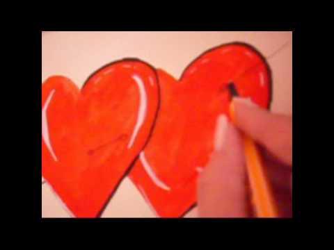 Musik ,Angel of love ,zeichnung Herzen der Liebe von brigitte