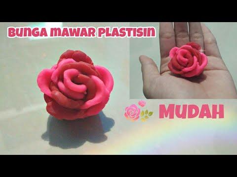 Membuat Bunga Dari Plastisin Youtube