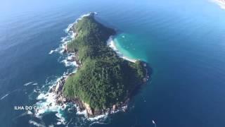 Ilha do Campeche Florianopolis Brazil 4k Santa Catarina