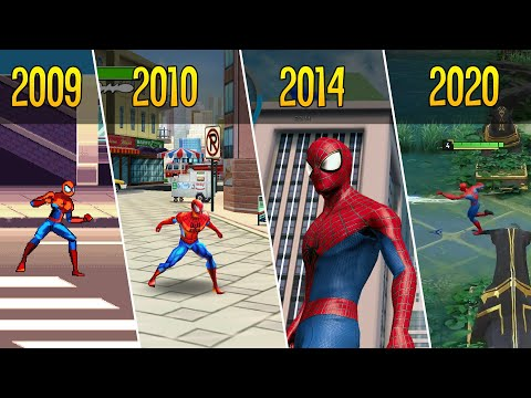 ЭВОЛЮЦИЯ игр Человека-Паука на Андроид