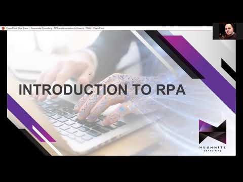 RPA Implementation In F&A