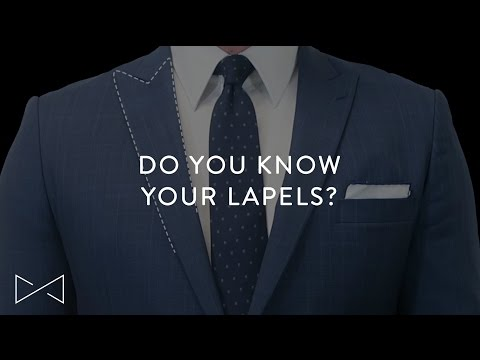 6 Things You Need To Know About Lapels