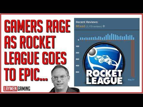 Rocket League Review Bombed After Epic Buys Developer (BONUS SONIC MEMES)