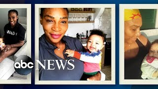 Serena Williams speaks out about post-partum depression battle