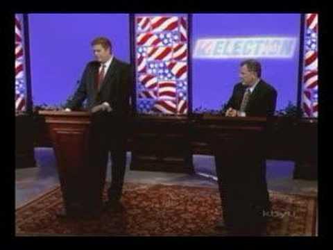 Christian Burridge and Chris Cannon Debate on KBYU