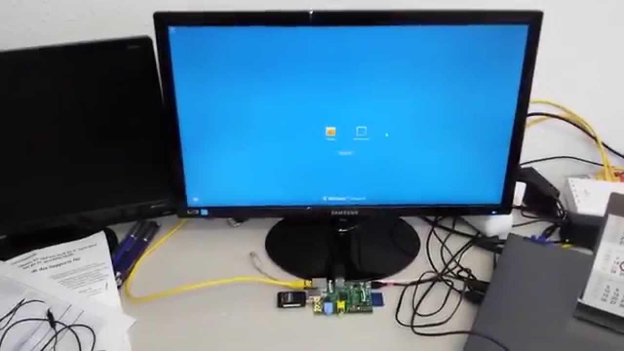 Raspberry Pi Thinclient mit Windows 7 Professional (RDP)