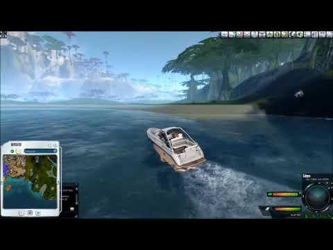 Entropia Universe: Planet Calypso Eudoria coastal boat trip