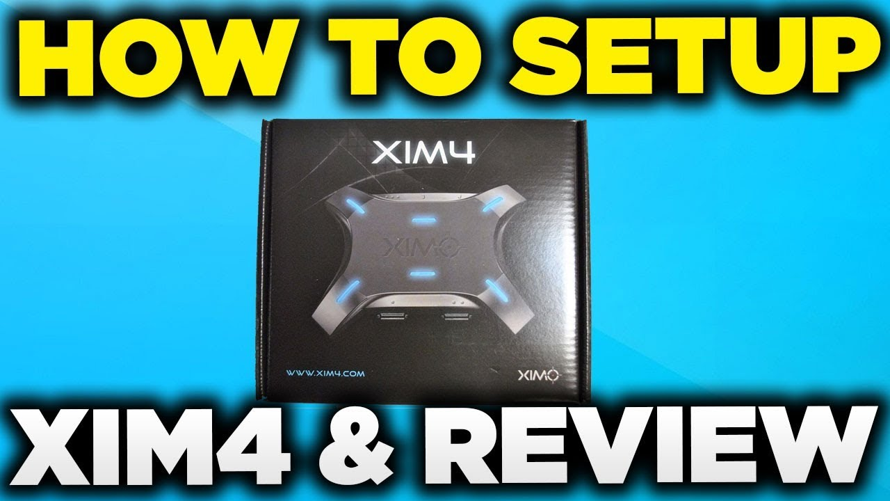 HOW TO SETUP XIM4 TO PS4   REVIEW PRODUCT