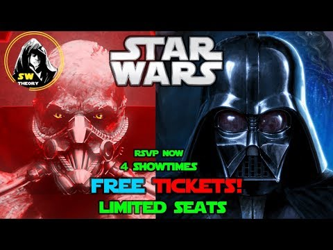 I BOUGHT OUT A THEATRE GET YOUR FREE TICKETS NOW!! (LIMITED) - Star Wars Theory Vader Fan Film