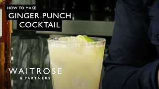 Ginger Punch cocktail recipe - Waitrose