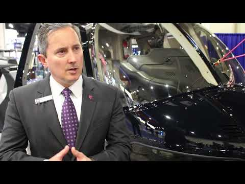 Bell highlights 407GXi helicopter at Sea-Air-Space convention