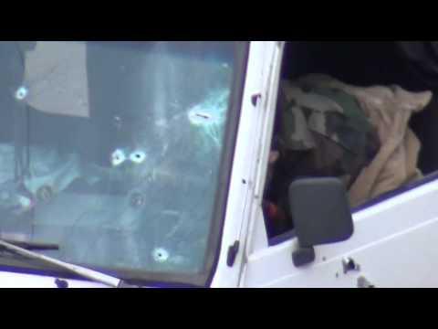 شام درعا الحراك عمليه نوعيه للجيش الحر 30 1 2012   YouTube